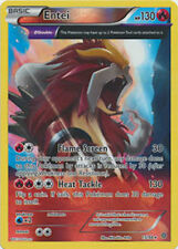 Entei FULL ART 15/98 XY Ancient Origins REVERSE HOLO MINT! Pokemon