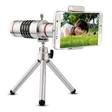 18x Optical Telescope Telephoto Lens Clip Tripod For iPhone 6 6s 7 Samsung S7 S6