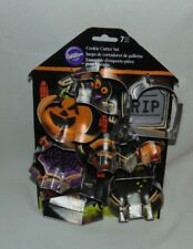 Wilton Halloween Cookie Cutters Pack of 7 New