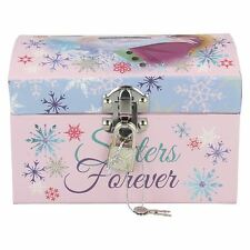 WD16227- Frozen Anna & Elsa Money Box With Padlock- Great Price!