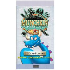 Munchkin Collectible Card Game Booster Pack NEW 12 Cards Fun Kids Teens Adults