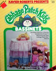 Create 2 Sizes Bassinets For Cabbage Patch Kids  Four Designs  Pattern Book