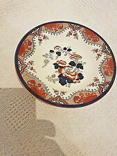 More details for genuine antique doulton burslem rimmed soup bowl in 'alma' pattern of 1882