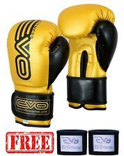 Evo Boxe Guanti Sparring Gel Mma Sacco da Allenamento Maya pelle Muay Thai UFC