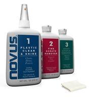 NOVUS LARGE KIT PLASTIC POLISH & RESTORATION SYSTEM !! Wholesale Discount SALE