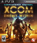XCOM: Enemy Within -- Commander Edition (Sony PlayStation 3, 2013)
