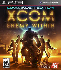 XCOM: Enemy Within - Commander Edition (Sony PlayStation 3) PS3 new sealed game