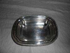 Silver casserole bottom marked S.P.C.