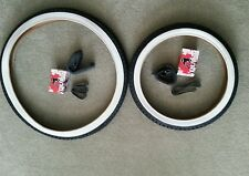 TWO(2) DURO BICYCLE TIRES SCHWINN TYPE CYCLE TRUCK W.WALLS 20X2.125 & 26X2.125