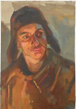 SOVIET ARMENIAN LABORER,1936,Oil Painting,EDUARD SARKISYAN,Armenia,Sarkissian E.