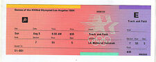 Orig.ticket   Olympic Games LOS ANGELES 1984  -  05.08.  Athletics - with FINALs