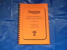 Triumph T120, TR6,6 T Livre de pièces pour modèles 1964