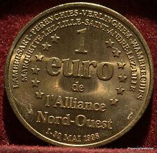 ALLIANCE NORD OUEST  1 EURO TEMPORAIRE DES VILLES 1998 FDC 1082A75