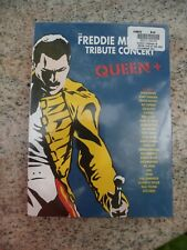 THE FREDDIE MERCURY TRIBUTE CONCERT Queen New Sealed 3 DVD Set David Bowie Seal