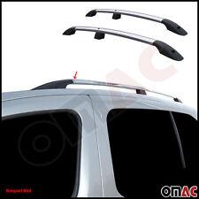 Dachreling Alu ABS-Fuß 2 tlg für Citroen Jumpy/ Peugeot Expert / Fiat Scudo KURZ