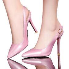44/47 Women High Heel Pointy Toe Stilettos Ankle Strap Sandals OL Pumps Party D
