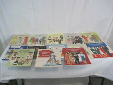 Set of 13 Tom Tienrey Type Fashion Paper Doll Books (SAY73-374)