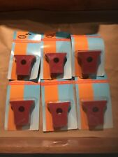 Lot Of 6 Sets Of Shop Fox D3232 Clamp Pads for 1/2-Inch Pipe Clamp