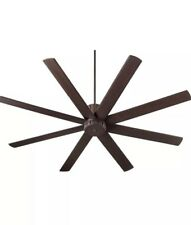 """Oiled Bronze Proxima 72"""" 8-Blade Indoor Ceiling Fan W/Matching Blades"""