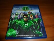 Green Lantern (Blu-ray Disc,Extended Cut 2011) Ryan Reynolds Used