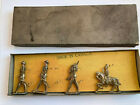 RARE CANADIAN CANADA WWI ERA LEAD SOLDIERS MILITARY IN BOX