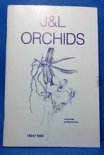 1994 / 1995 J & L Orchids catalog