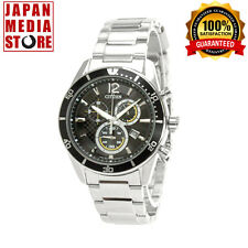 Citizen VO10-6742F ALTERNA Eco-Drive Chronograph Watch 100% Genuine JAPAN