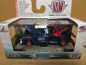M2 Machines Auto-Trucks 1958 Chevrolet Apache Tow Truck 1:64 Scale 2015 MISB