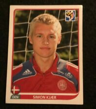 PANINI 2010 FOOTBALL WORLD CUP STICKER #358 SIMON KJAER