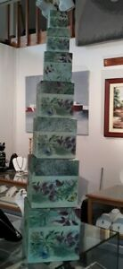 REDUCED 7 NEW Bob's Nesting Boxes HERB GARDEN/ Sherri Buck Baldwin