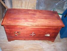 Traditional Handmade Hope Chest, Pine
