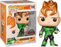 Dragon Ball Z - Android 16 Metallic Pop! Vinyl [RS]-FUN39946-FUNKO