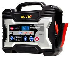 OmegaPro 12 Volt Microprocessor Battery Charger w/ Variable Amp 2/6/10/12/15 A