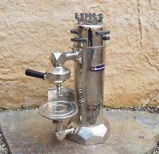 Vintage antica vertical espresso machine, macchina da caffe no Faema