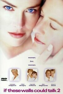 If these Walls Could Talk 2 & Basic Instinct LESBIAN DVDS Sharon Stone Double