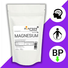 Nutrics®100% Rein Magnesium Oxide Pulver Pharmaqualität Nahrungsergänzungsmittel