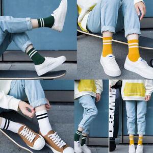 Fashion Women Cotton Striped Sock Soft Cute Solid Short Sport Casual Hosiery Ho