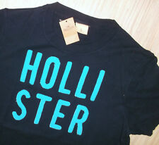 NEU Cooles Hollister T-Shirt Poloshirt blau Gr.M L NEU