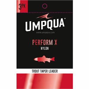 Umpqua Perform X Trout Nylon Leader