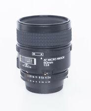 Nikon AF Micro Nikkor 60mm 2,8, gebraucht, vom Nikon Profi Händler
