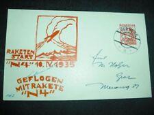 Raketenpost Schmiedl Austria N4 10.April 1935, SPACE