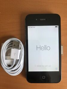 Apple iPhone 4s - 8GB - Black A1387 - to be used as iPod