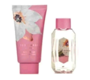 Ted Baker FRAGRANT BLOOM Bubble Bath & Body Wash 50ml Travel Size  - Brand New
