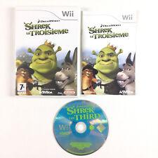 Shrek Le troisième 3ème Wii / Jeu Sur Console Nintendo Wii et Wii U