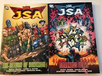 JSA Book 2 & 3 - The Return of Hawkman And Darkness Falls