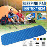 Ultralight Inflatable Sleeping Mat Camping Air Pad Roll Bed Mattress With Bag AU