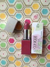 Clinique Pop Rouge intense + Base lissante 2 en 1 Mauve Rose Plum Pop Mini Neuf