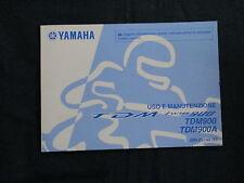 Uso e manutenzione YAMAHA TDM 900/a (2b0) nell'anno modello 2010
