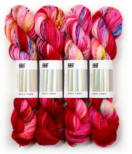 Hedgehog Fibres ::Sock Yarn Sari:: merino wool yarn