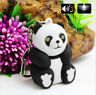 Panda Keychain Toys With LED Light And Cute Sound Glowing Pendant Dolls Gift fi